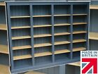 Traditional F&B Painted Library Bookcase, 6ft x 8ft Multi Display Shelving Unit