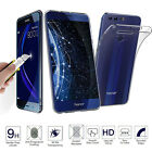 Newest Tempered Glass + Ultra Thin Clear TPU Soft Case For Huawei Honor 8
