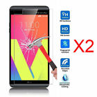 2x 9H Premium Tempered Glass Screen Protector Protection Guard Film for LG Model