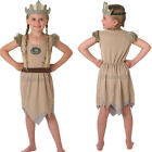 Kids Viking Girl Costume – Girls Historical Book Day Week TV Film School Outfit