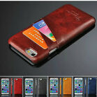 For Apple iPhone 7 / 7 Plus Slim Leather Wallet Card Slot Back Cover Case Skin