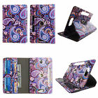 """TABLET STAND FOR 8 INCH 8"""" ROTATING FOLIO PU LEATHER CASE COVER CARD CASH SLOTS"""