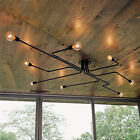 FixedPricevintage industrial semi flush mount ceiling light fixture steampunk chandelier