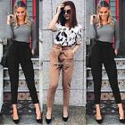 Sexy Women Skinny Long Pants High Waist Stretch Jeans Slim Pencil Trousers N98B