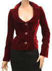 ITA $885 D&G Womens Jacket Coat Red Size 42 NWT 1165