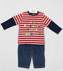 Baby Boys Jeans & Long Sleeve Top Outfit - Being This Cute (6-12 Months)