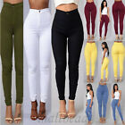 Sexy Women Skinny Stretch Denim Slim High Waist Trousers Leggings Jeans Pants