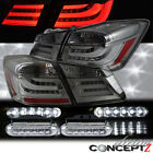 LED Tail lights BMW Style for 13-14 Honda Accord 4dr + Front LED Daytime Running