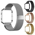 Stainless Steel Housing case+Magnetic Milanese Band For Fitbit Blaze Fitness Kit