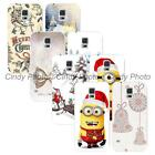 For Samsung Galaxy S5 i9600 SV New Year Christmas Bells Hard Plastic Cover Case