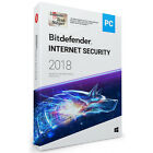 Bitdefender Internet Security 2018 | Windows | 1, 3, 5, 10 PC | 1, 2 u. 3 Jahre