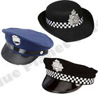 POLICE WPC HAT CAP AMERICAN NEW YORK POLICEWOMAN FANCY DRESS COSTUME ACCESSORY