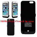 10000mAh Backup External Power Bank Battery Charging Case for iPhone 6/ 6 plus