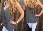 T-Shirt Vest Blouse Summer Sexy Casual NEW Womens cotton Sleeveless