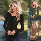 Fashion Women Lady Long Sleeve Top Lady Blouse Casual Floral T-Shirt Size S-XL