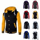 Kyпить Men Coat Jacket Outwear Sweater Winter Slim Hoodie Warm Hooded Sweatshirt на еВаy.соm