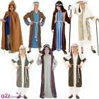 New Kids Shepherd Joseph Innkeeper Nativity Costume Boys Christmas Fancy Dress