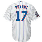 Chicago Cubs #17 Kris Bryant 2016 World Series Champions Logo Patch Jersey