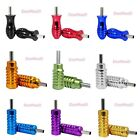 Tattoo Machine Colorful Aluminum Alloy Handle Grip Tube Tip With Back Stem 25mm