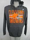 Cleveland Browns Men's Pullover Bar-Style Charcoal Gray Hooded Sweatshirt NFL on eBay