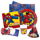 ULTIMATE SPIDERMAN Birthday Party Range(Tableware/Decorations)Marvel 2016 Procos