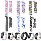 Patterned Silicone Replacement Watch Band Strap For Samsung Gear Fit 2 SM-R360
