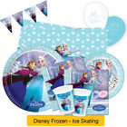 Disney FROZEN Ice Skating Birthday PARTY RANGE (Tableware/Decorations) Anna/Elsa