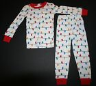 NEW Gymboree Outlet Boy Holiday Lights Pajamas PJs size 3 4 5 6