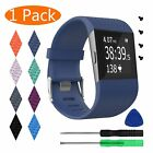 Fitbit Surge Watch Fitness Tracker Classic Replacement Silicone Strap Band