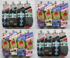 12 Pairs Girls Boys Childrens Thermal Designer Socks Kids Thermal Socks