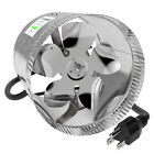 "VIVOSUN 4"" 6"" 8"" inch Inline Duct Booster Fan Exhaust Air Cooling Vent Blower"