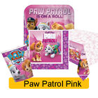 PAW PATROL Pink (Girls) Birthday Party Range  - Tableware Balloons & Decorations