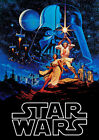 Star Wars Movie Poster Print Borderless Stunning Vibrant Sizes A1 A2 A3 A4 £14.94 GBP