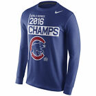 Chicago Cubs Nike 2016 World Series Champions Celebration Long Sleeve T-Shirt