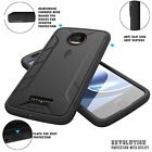 Moto Z Droid POETIC Revolution [Premium Rugged] w/Built-In Screen Protector Case