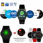 Bluetooth 3G Android 5.1 GPS SIM Smart Watch Phone mate For iPhone Samsung