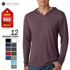 NEW Next Level Premiun Men's Triblend Long Sleeve T-Shirt Hoodie M-N6021 image