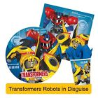 TRANSFORMER ROBOTS IN DISGUISE Birthday Party Range (Tableware & Decorations)