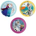 8 PAPER PLATES (20cm) Licensed Disney FROZEN Ranges (Party/Birthday/Tableware)