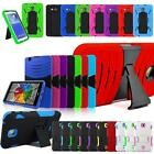 """Tough Shockproof Defender Armor Combo Stand Box Hard Case Cover For • 7""""• Tablet"""