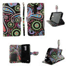 FOR LG K7 / TREASURE CASE WALLET CREDIT CARD POCKET PU LEATHER DUAL LAYER