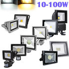 10W 20W 30W 50W 80W 100W PIR Motion Sensor LED Flood Light 240V Warm Cool White