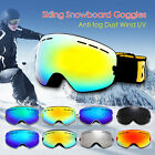 Professional Snowboard Goggles Glasses Spherical Lens Winter Sports Anti UV400