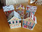 Post Office Library Chocolate Shop Posh Paws School Xmas Tins by Harry London