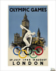 London 1948 Olympics, Kunstdruck
