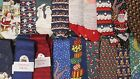 Novelty Christmas 100% Silk Neck Ties Choose From 18 Designs New Freepost
