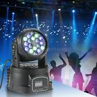 18x3W LED 3/9 Channel RGB Moving Head Light Wash Effect Stage Lamp Bar Club O4Z3