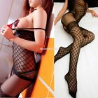 Sexy Women Open Crotch Stockings Crotchless Fishnet Sheer Dress Lingerie EN24H