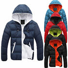 Lot New Men's Casual Warm Jacket Hooded Winter Thick Coat Parka Overcoat Hoodie