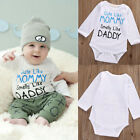 Infant Bodysuit Romper Jumpsuit Toddler Outfits One-piece Clothes Long Sleeve